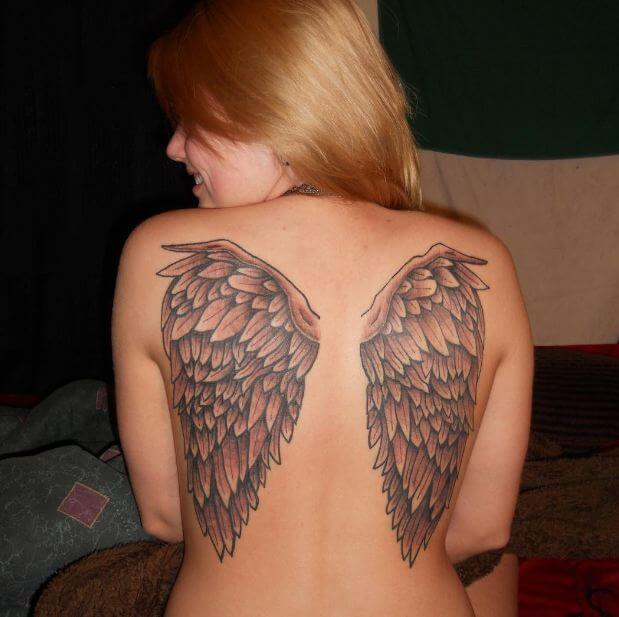 Angel Wing Tattoos Designs Ideas And Meaning Tattoos For You