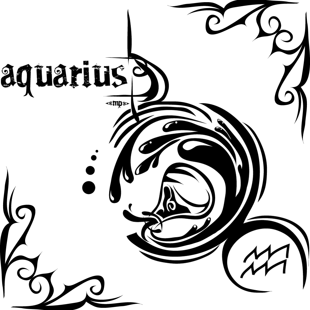 Aquarius Tattoos Designs Ideas And Meaning  For You