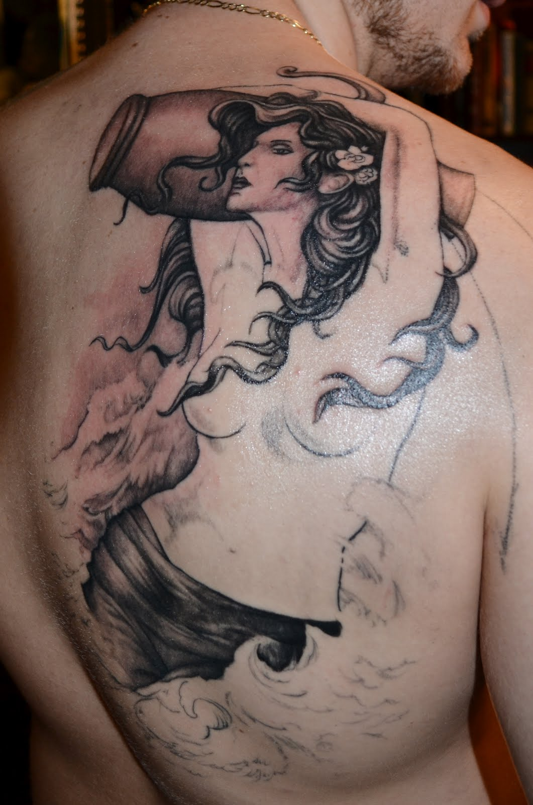 Aquarius tattoos designs ideas and meaning tattoos for you for Male tattoo ideas