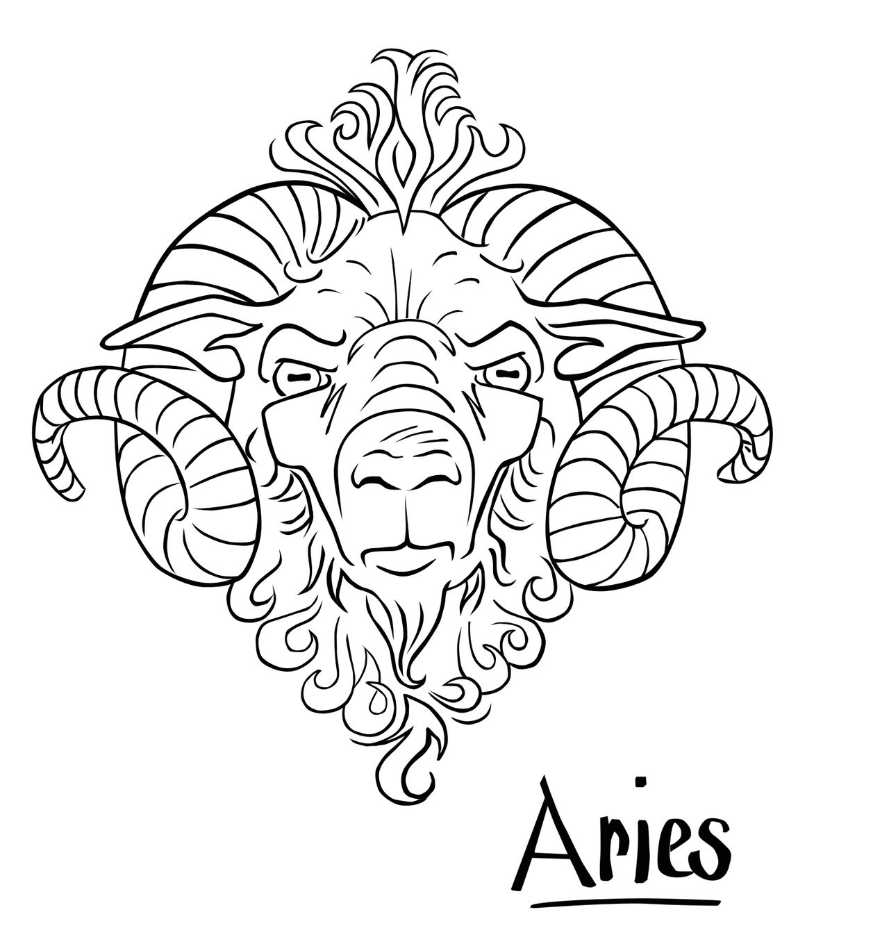 aries tattoos designs ideas and meaning tattoos for you. Black Bedroom Furniture Sets. Home Design Ideas