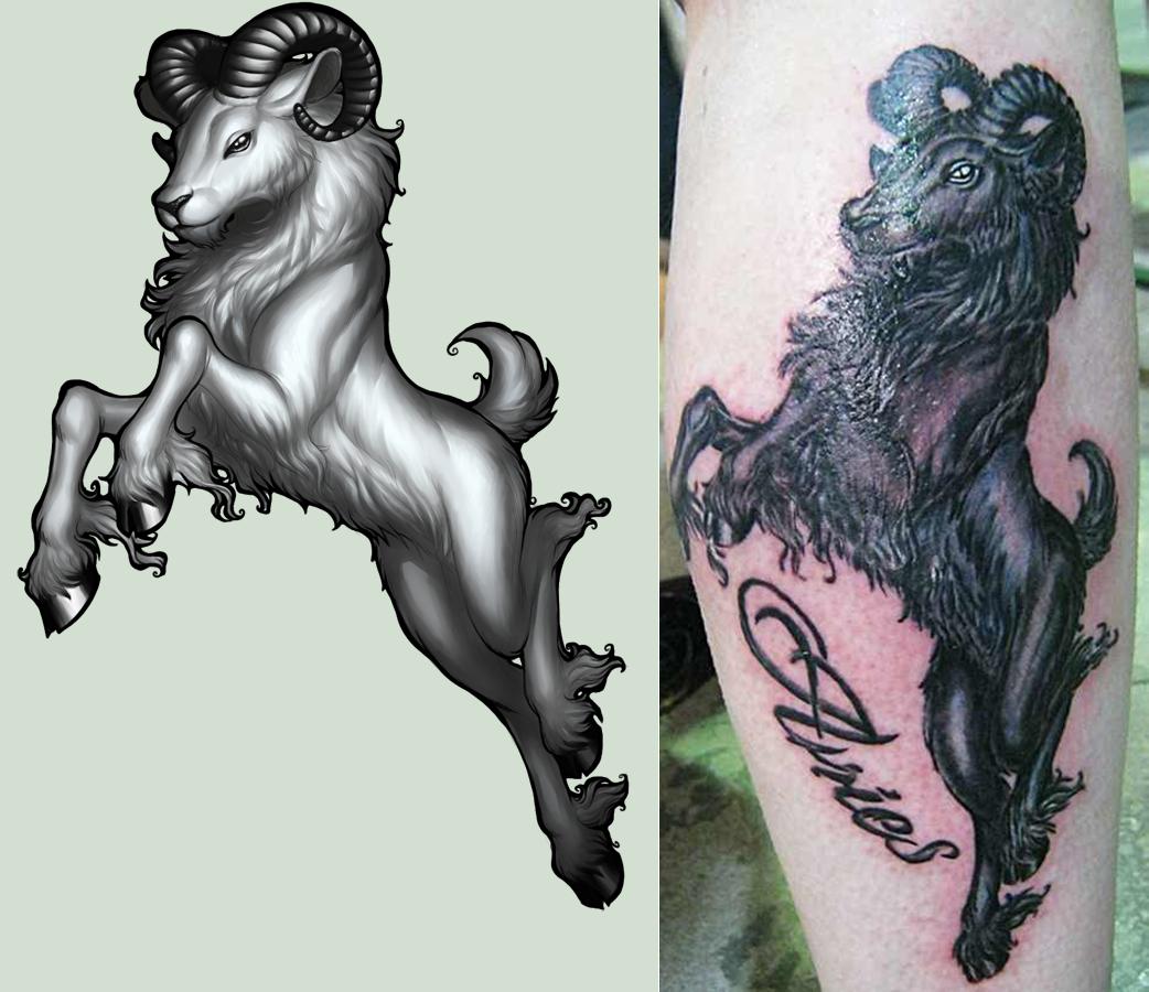 Aries tattoos designs