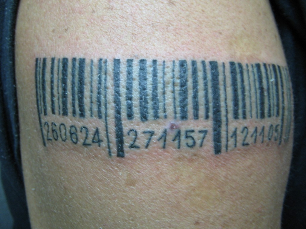 Stand Neck Designs : Barcode tattoos designs ideas and meaning for you