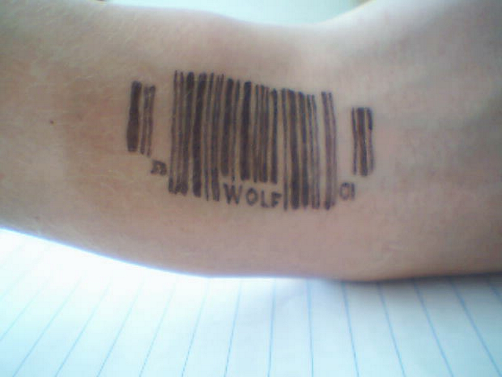 Barcode Tattoos Designs, Ideas and Meaning