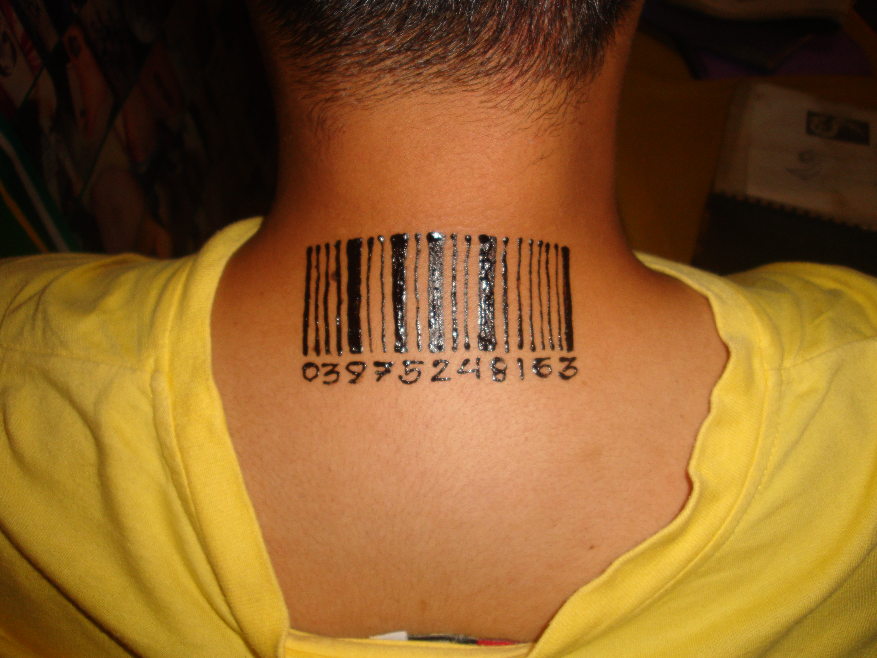 barcode tattoos designs ideas and meaning tattoos for you. Black Bedroom Furniture Sets. Home Design Ideas