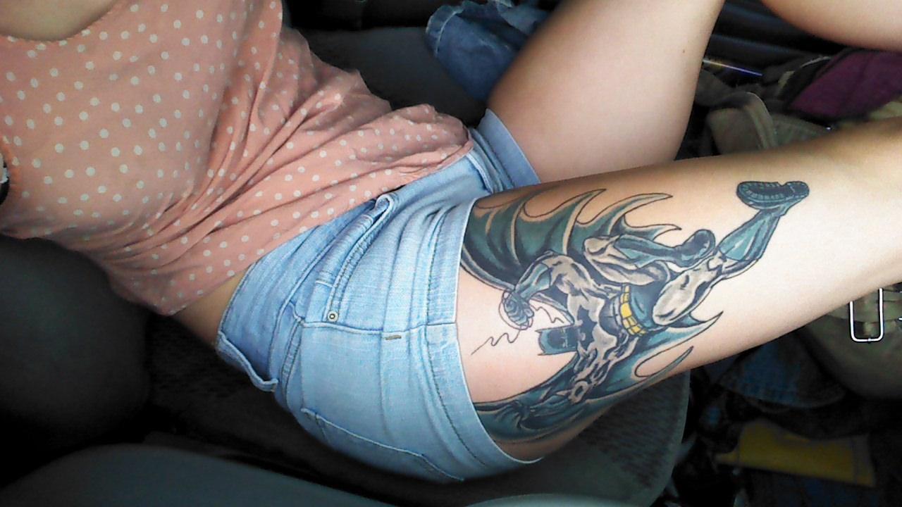 Pics Photos Pin Coloring Batman Tattoos Tattoo Design