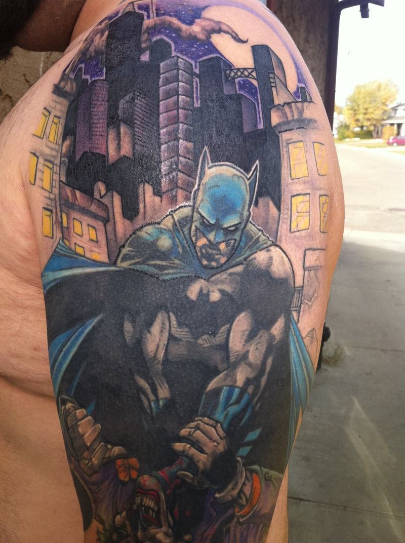 Batman Tattoos Designs, Ideas and Meaning | Tattoos For You