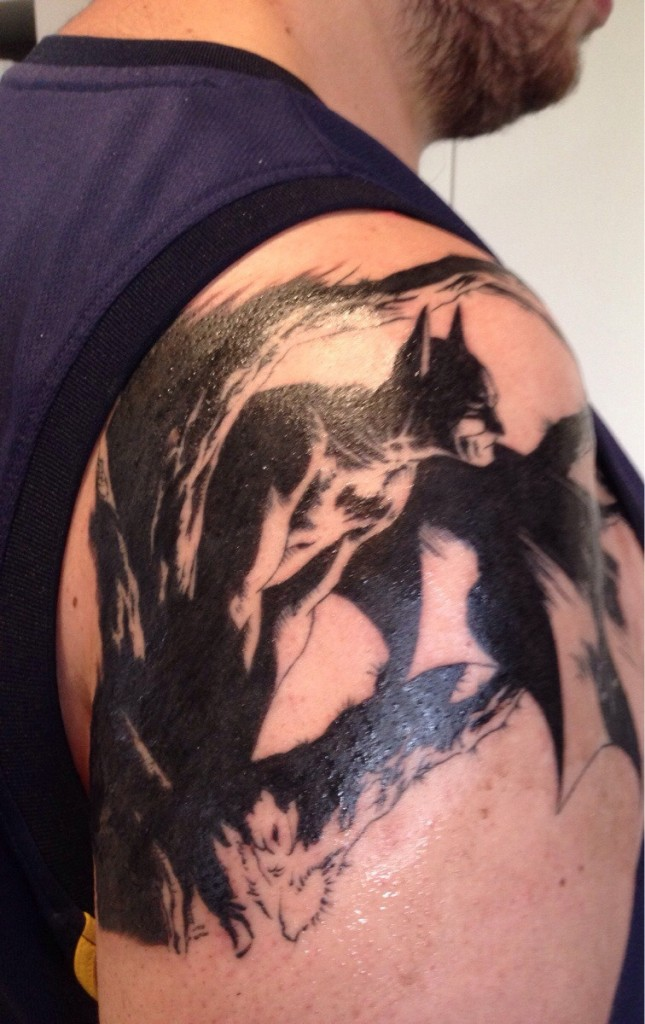 Batman Tattoos For Men