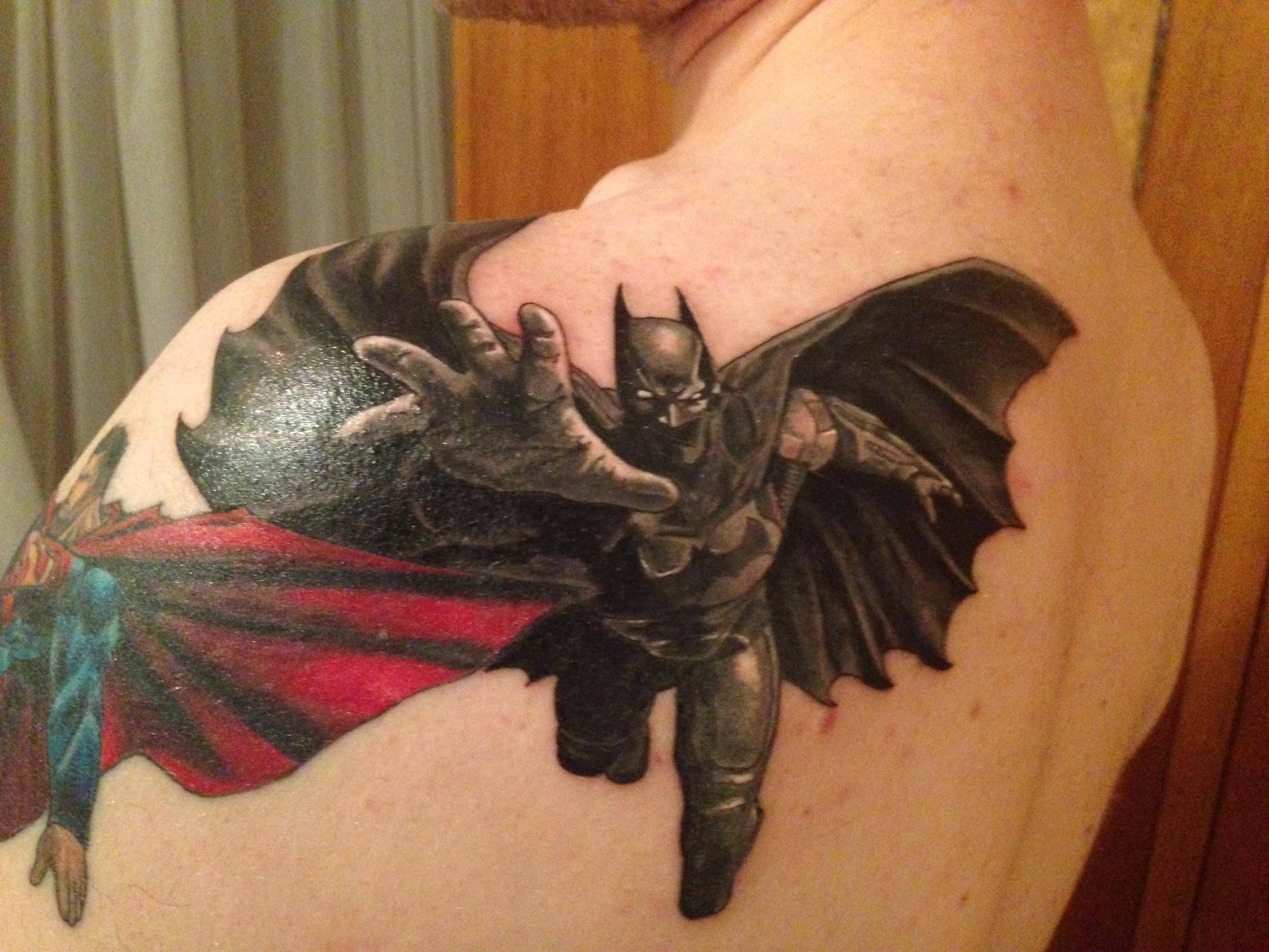 Batman Tattoos Designs  Ideas and MeaningBatman Logo Tattoos For Men