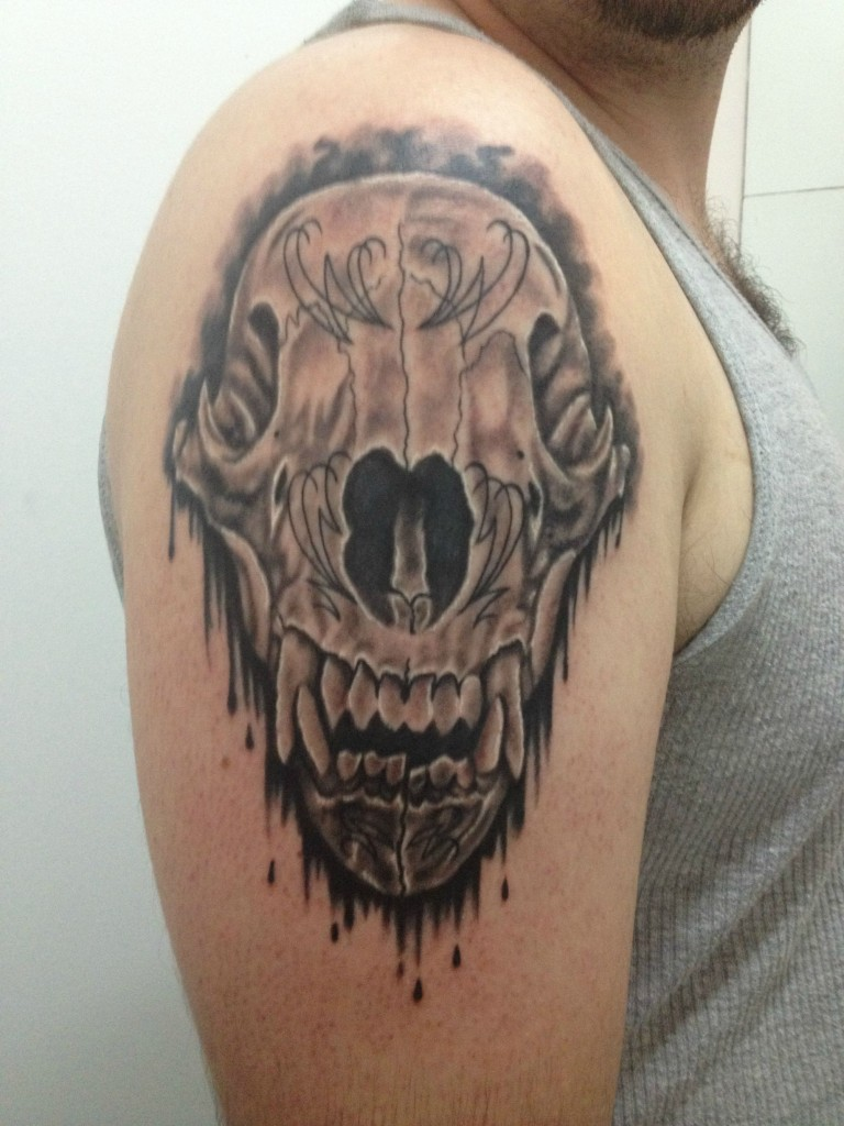 Bear tattoos designs ideas and meaning tattoos for you for Skull tattoos meaning