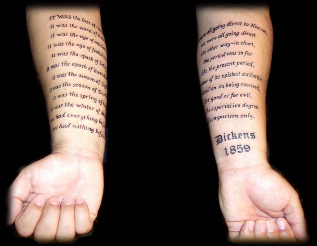 Bible Scripture Tattoo