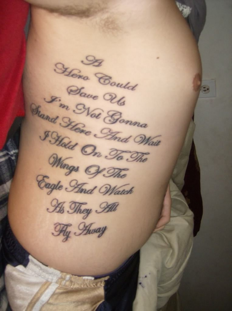 Bible Scriptures Tattoos For Men