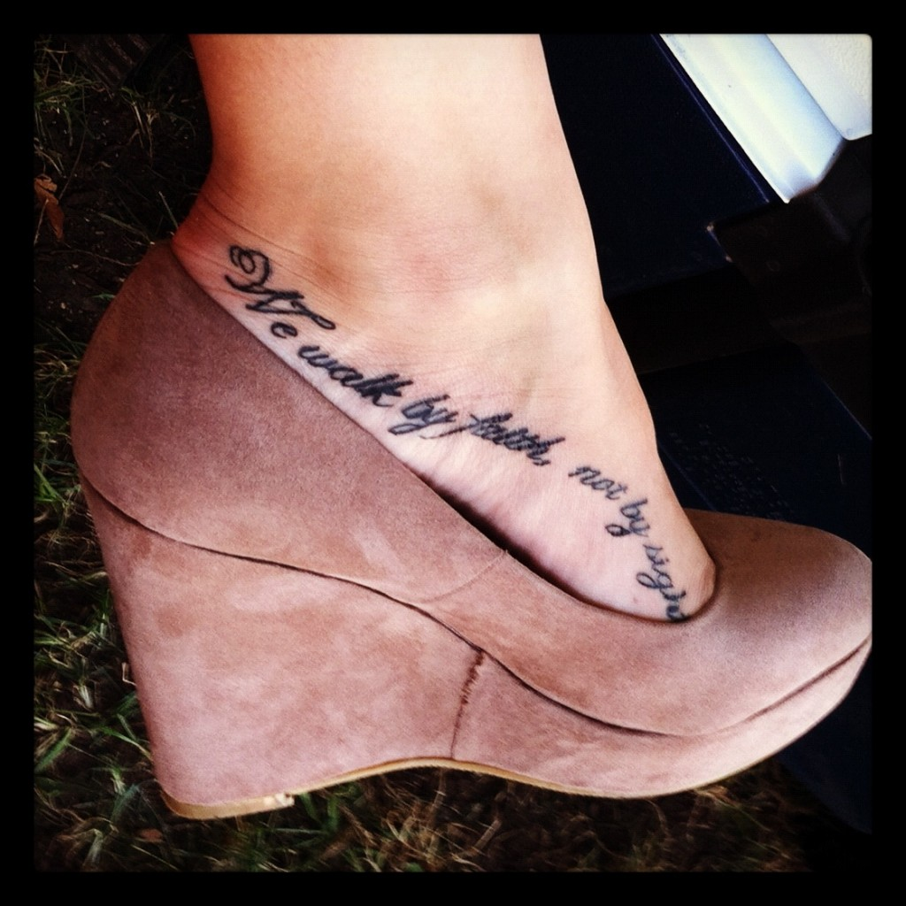 bible verses tattoos on foot - photo #1