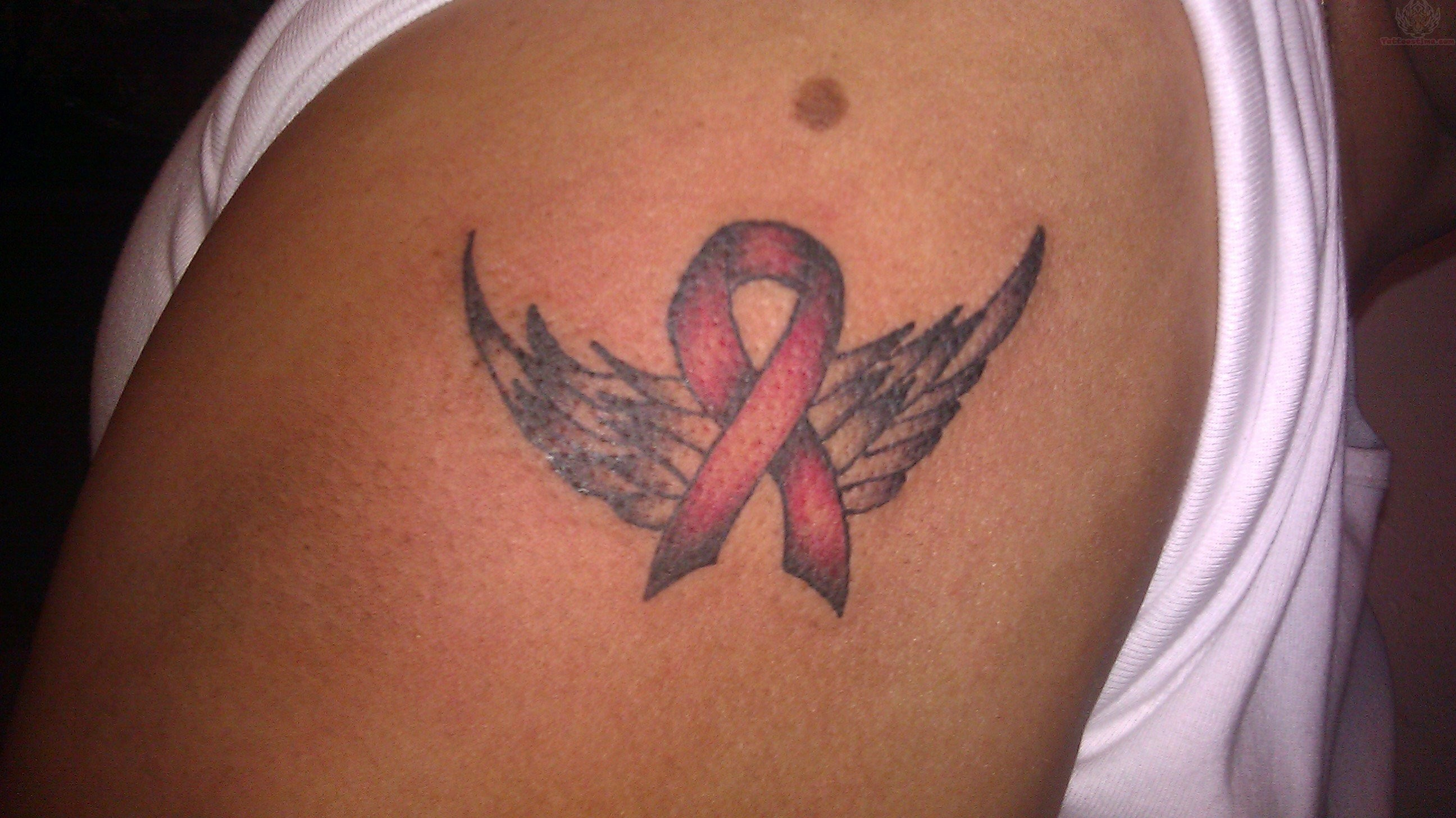 Cancer Ribbon Tattoos Designs Ideas And Meaning Tattoos For You