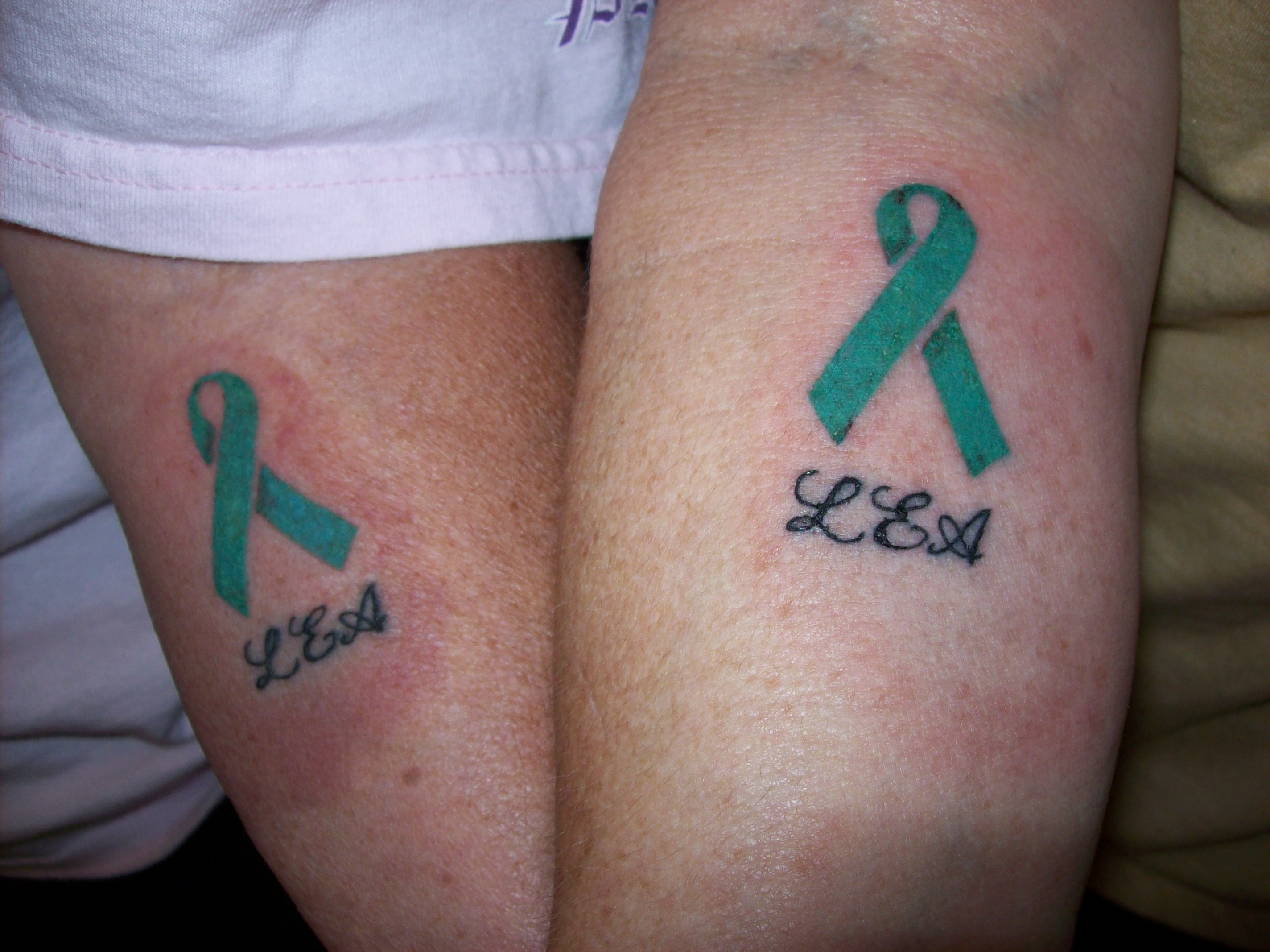 Cancer Ribbon Tattoos Designs, Ideas and Meaning | Tattoos For You