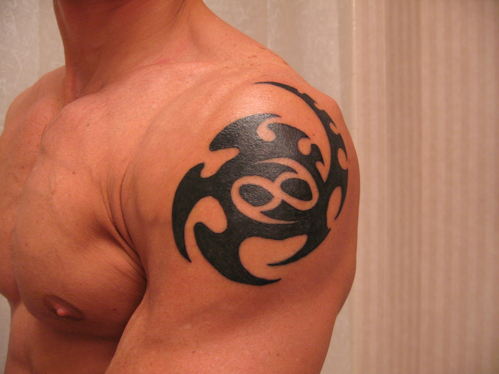 35 Phenomenal Cancer Tattoos - SloDive  |Cancer Sign Tattoos For Men