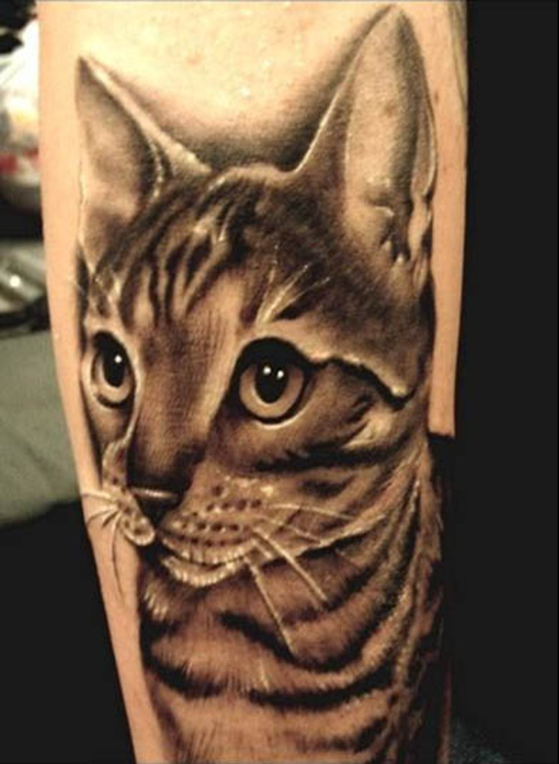 Cat tattoos designs ideas and meaning tattoos for you for Tatoo gatos