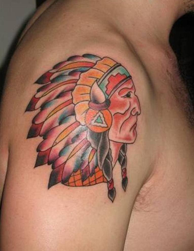 Indian tattoos designs ideas and meaning tattoos for you for Cherokee indian tribal tattoos