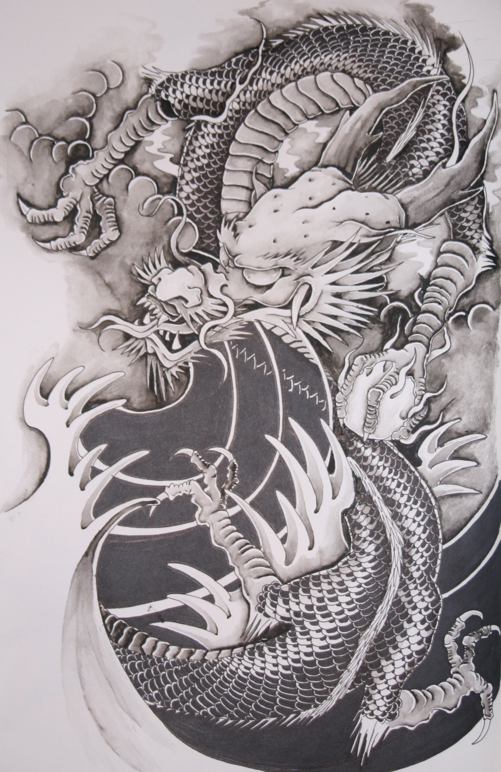 tattoos-pictures-asian-dragons
