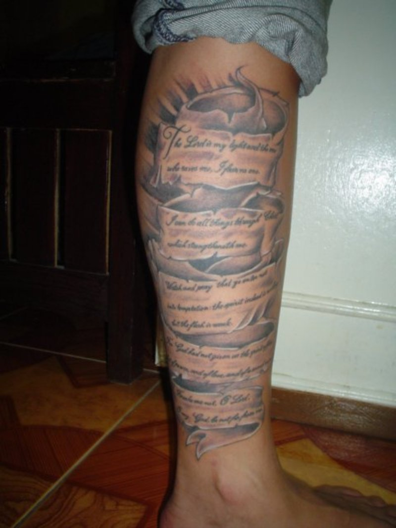 Scripture tattoos designs ideas and meaning tattoos for you for Bible verse tattoos on arm