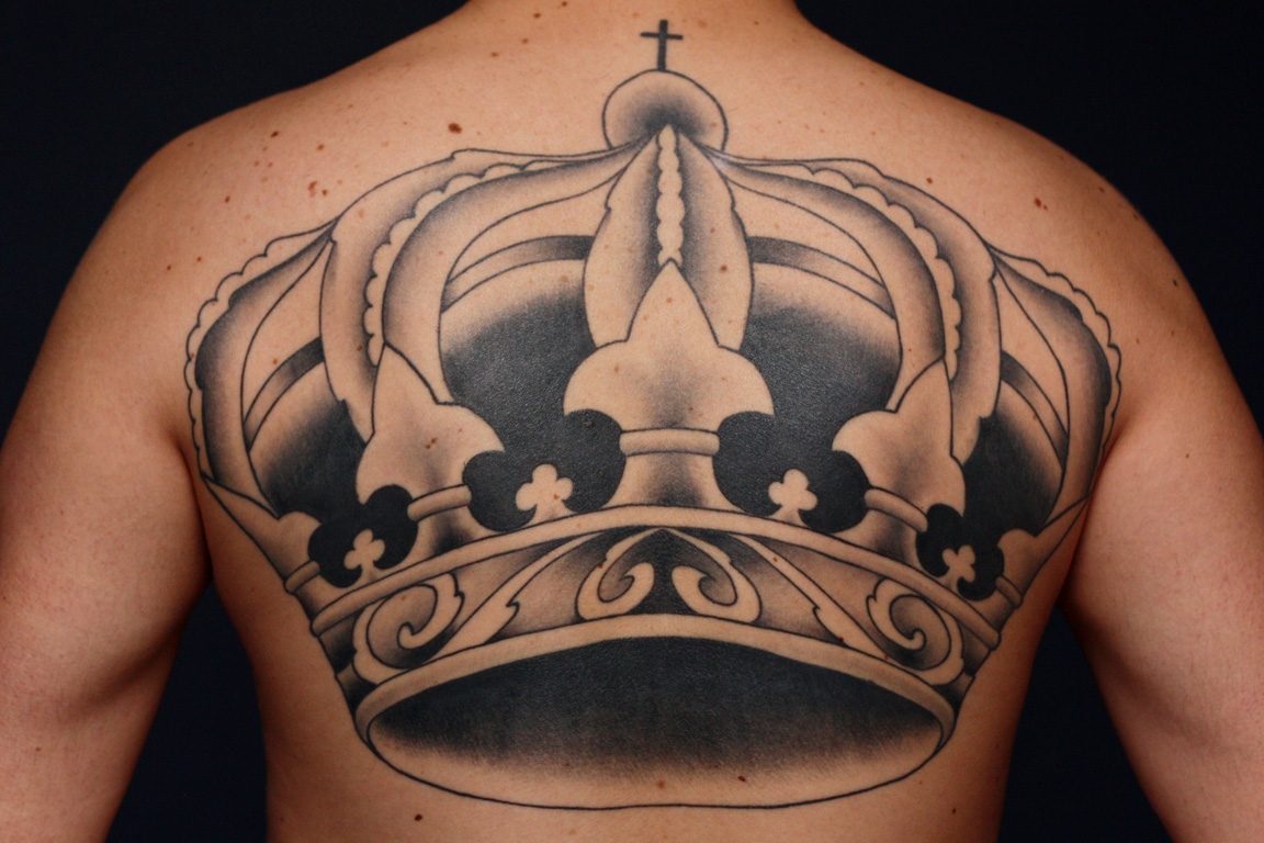 crown tattoos designs ideas and meaning tattoos for you. Black Bedroom Furniture Sets. Home Design Ideas