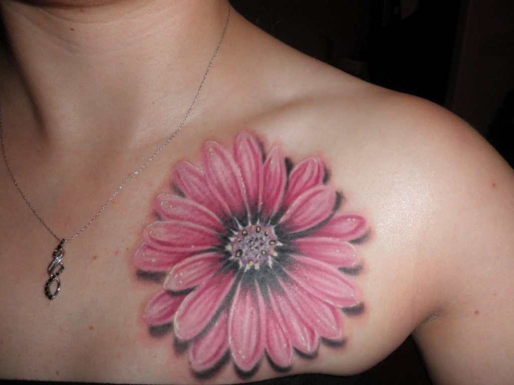 Daisy Tattoos Designs Ideas and Meaning