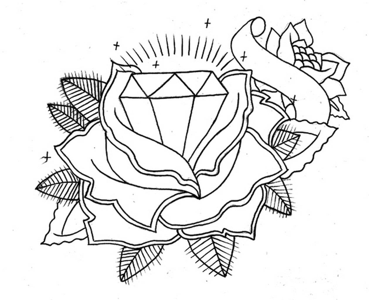 c6030e461 Diamond Tattoos Designs, Ideas and Meaning | Tattoos For You