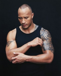 Dwayne The Rock Johnson Tattoo