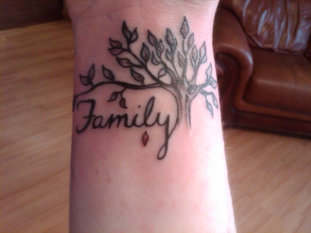 Family tattoos designs ideas and meaning tattoos for you for Family first tattoo designs