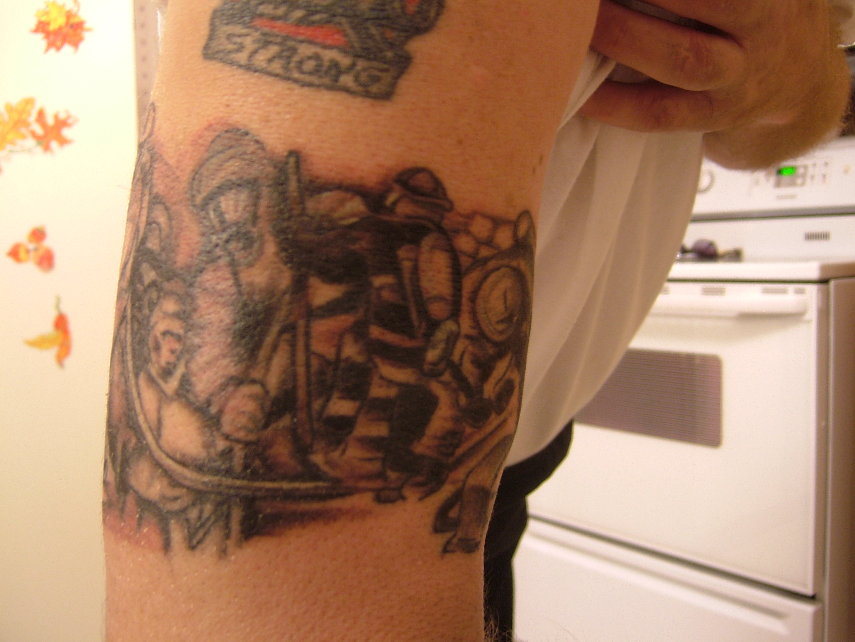 Firefighter Sleeve Tattoo: Firefighter Tattoos Designs, Ideas And Meaning