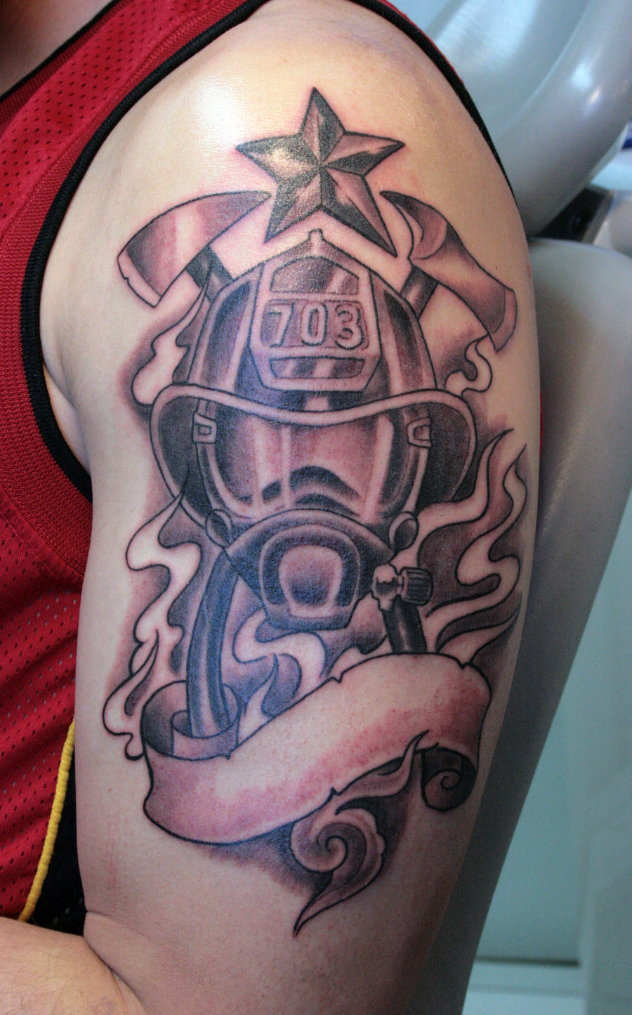 Designer Tips For Cozying Up Your Living Room: Firefighter Tattoos Designs, Ideas And Meaning