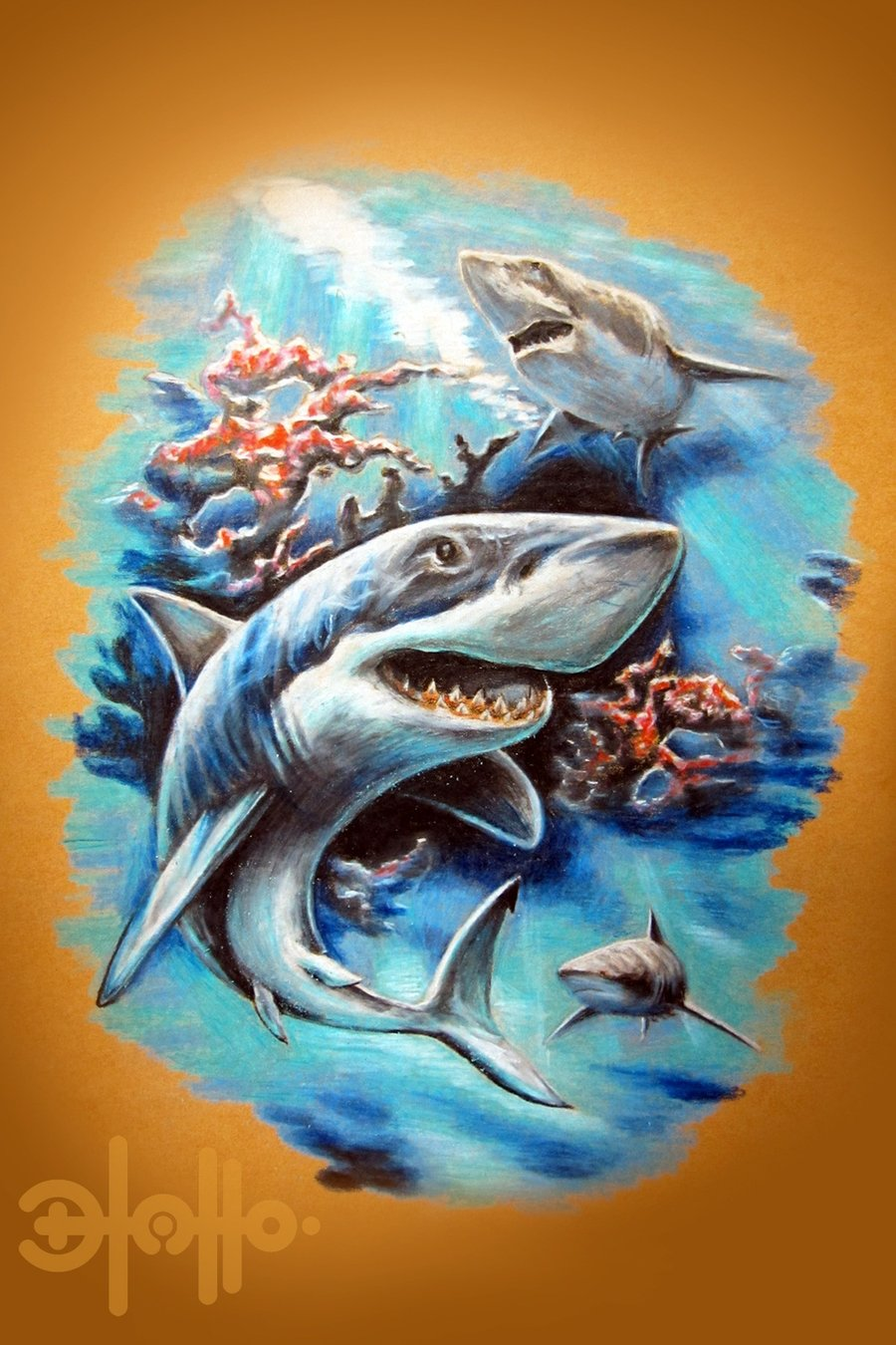 shark tattoos designs ideas and meaning tattoos for you. Black Bedroom Furniture Sets. Home Design Ideas