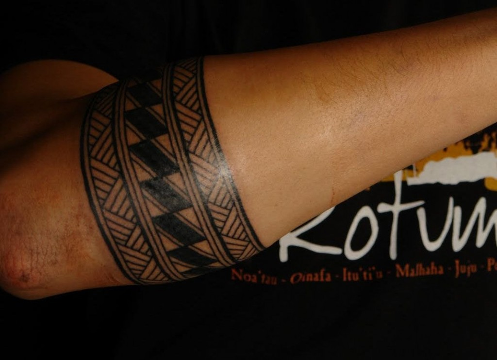 Hawaiian Armband Tattoos