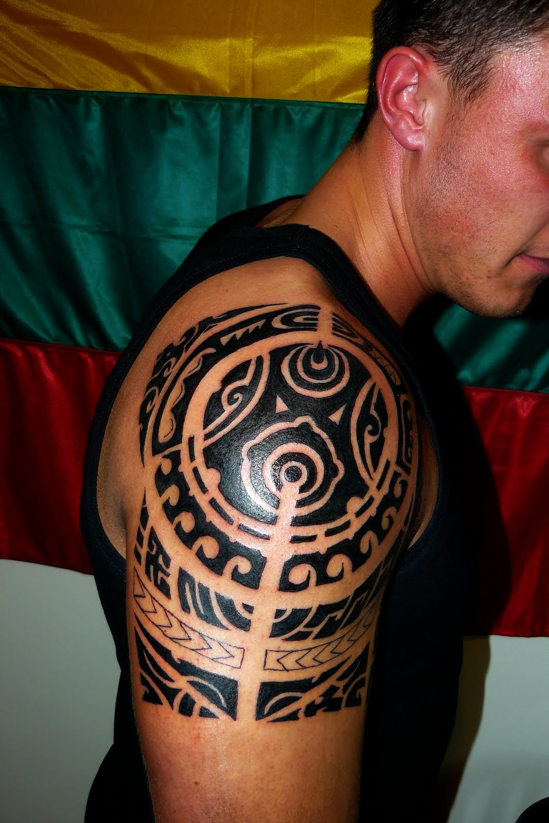 Hawaiian tattoos designs ideas and meaning tattoos for you for Images of tribal tattoos