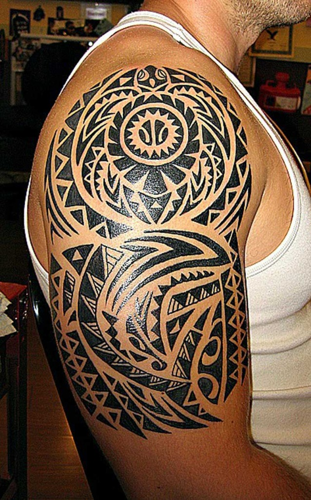 Hawaiian Tribal Tattoo