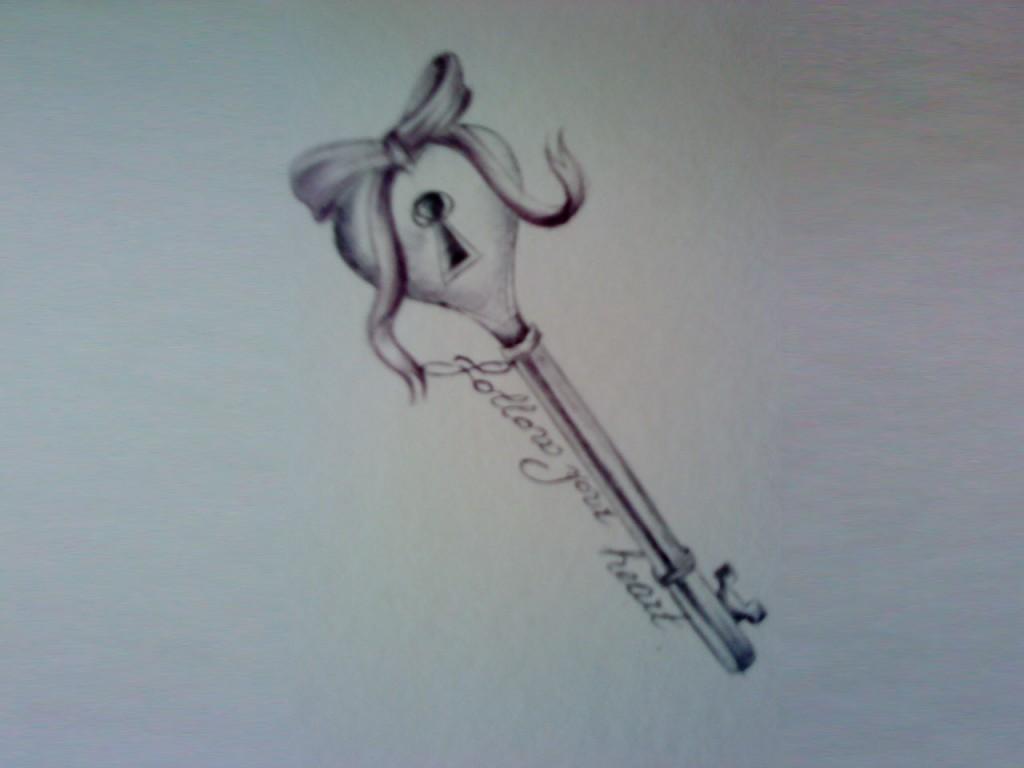 Key To My Heart Tattoo Designs Key Tattoos Designs, I...
