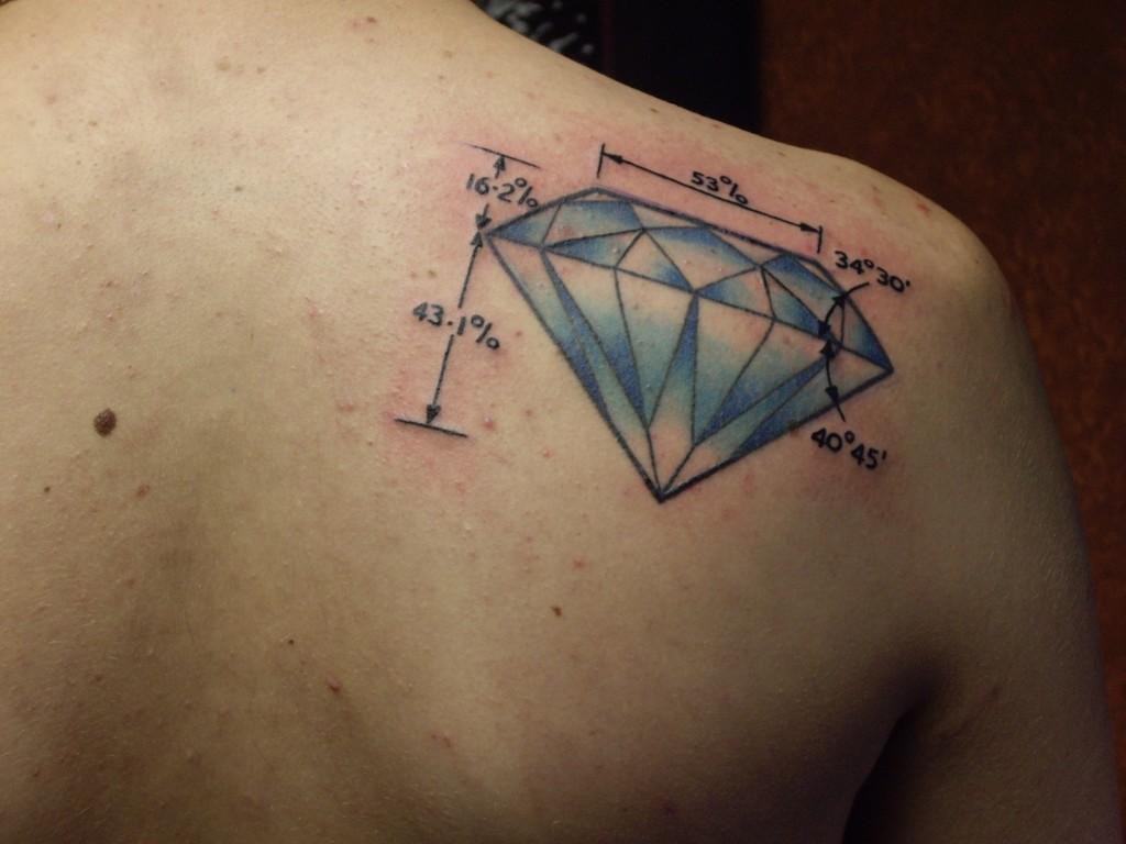 diamonds tattoos designs - photo #2