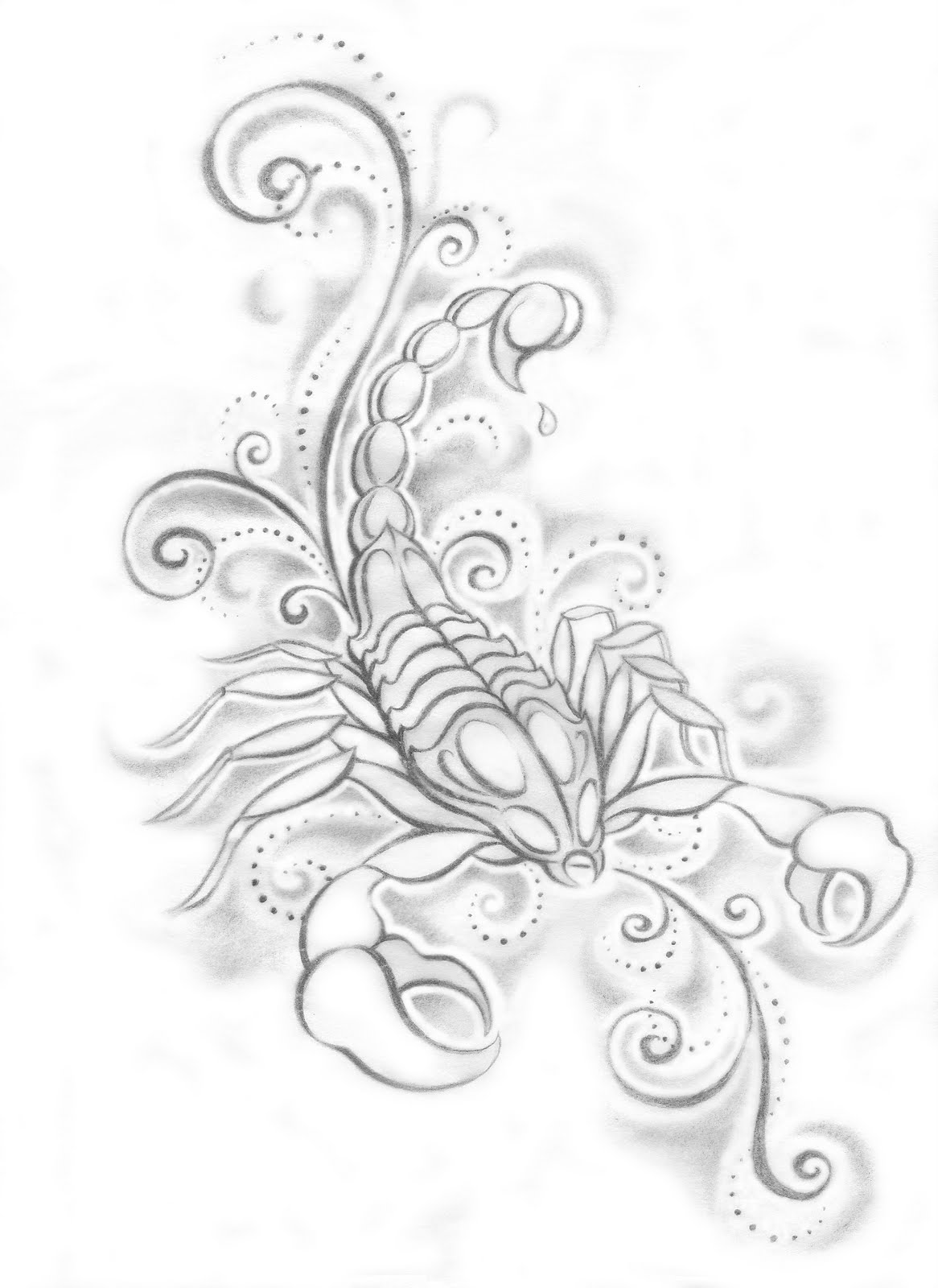 Scorpio tattoos designs ideas and meaning tattoos for you for Embossed tattoo designs