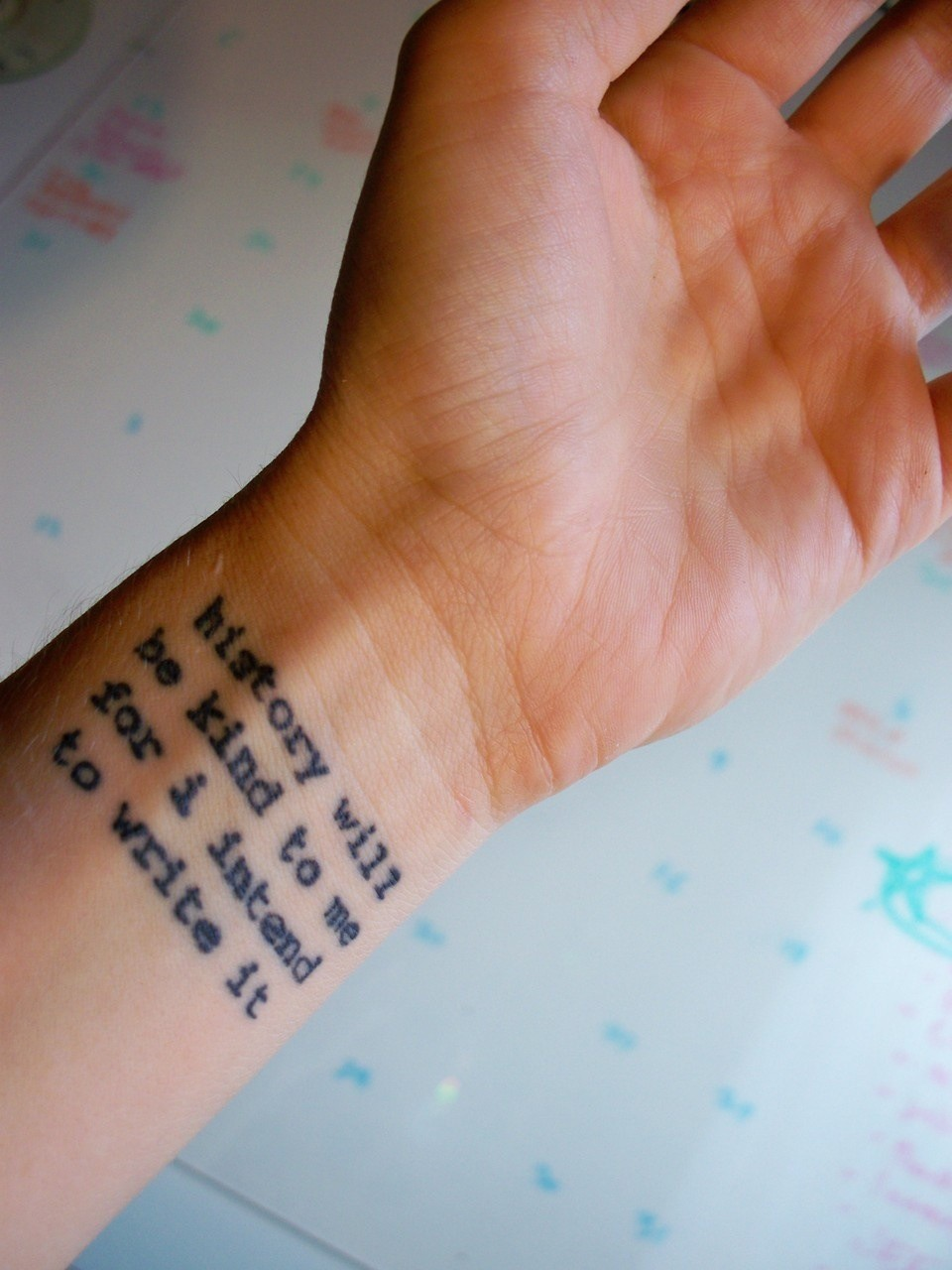 Drawing Lines On Your Wrist : Inspirational tattoos designs ideas and meaning