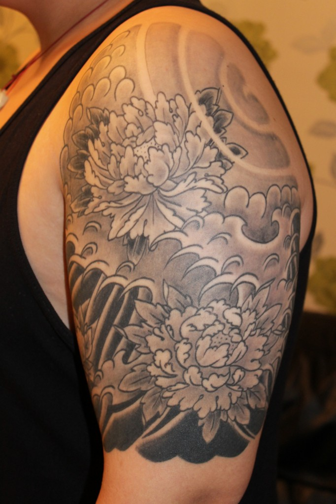 Japanese Cloud Tattoo