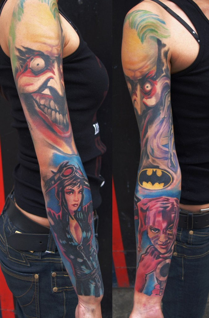 Joker Batman Tattoo