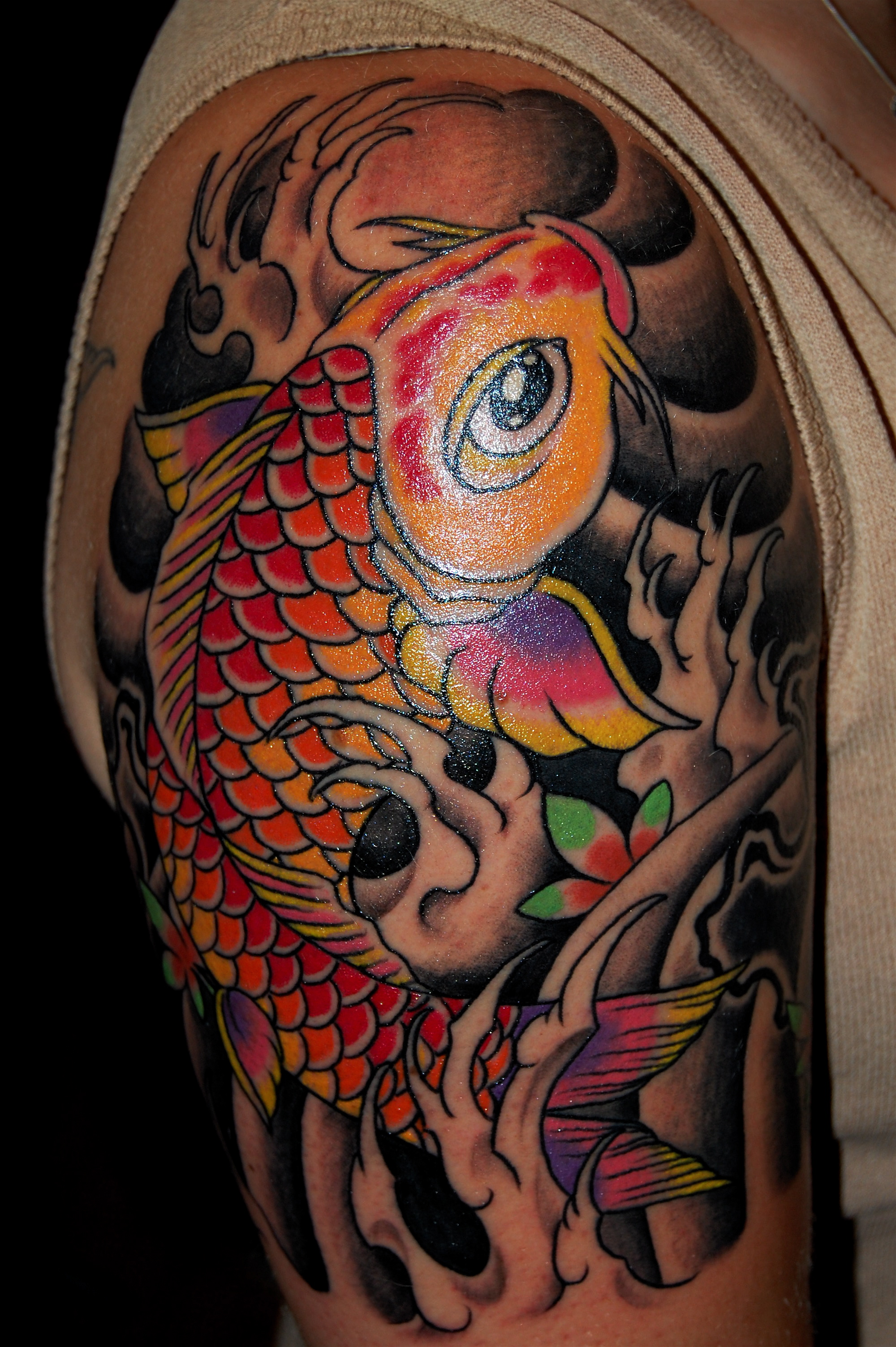 Koi Tattoos Designs, I...
