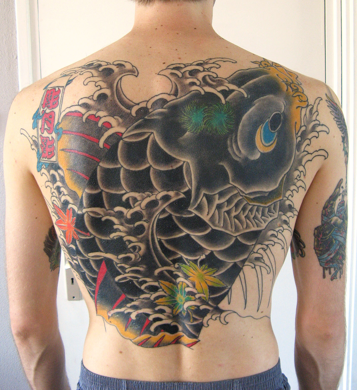 Koi tattoos designs ideas and meaning tattoos for you for Male tattoo ideas