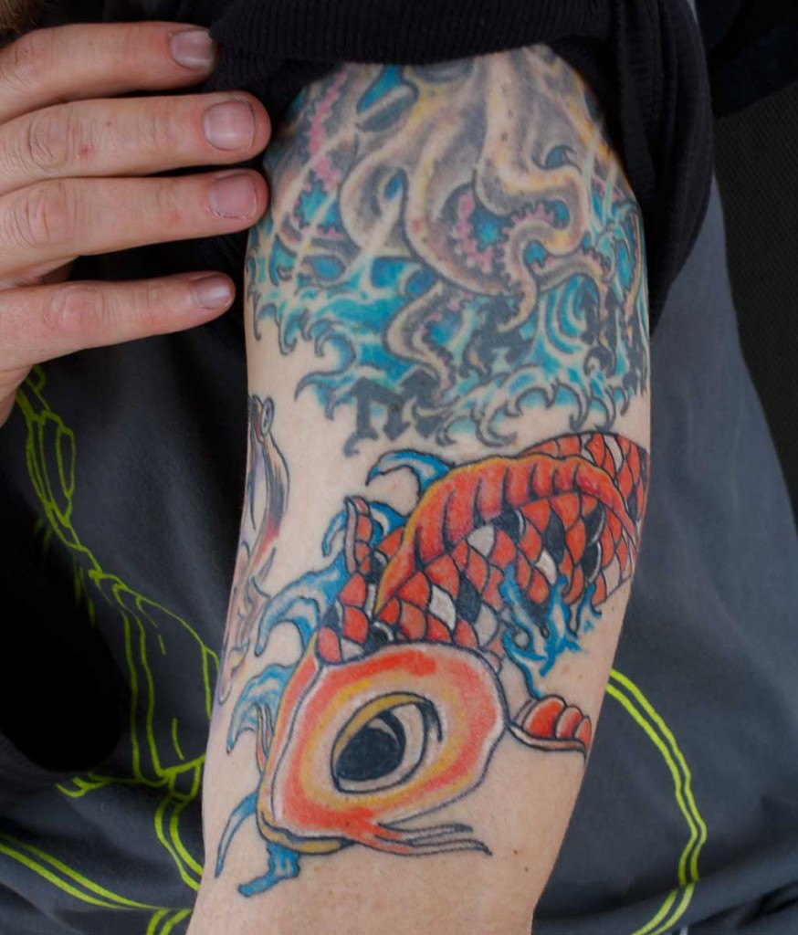 Koi tattoos designs ideas and meaning tattoos for you for What is a koi fish