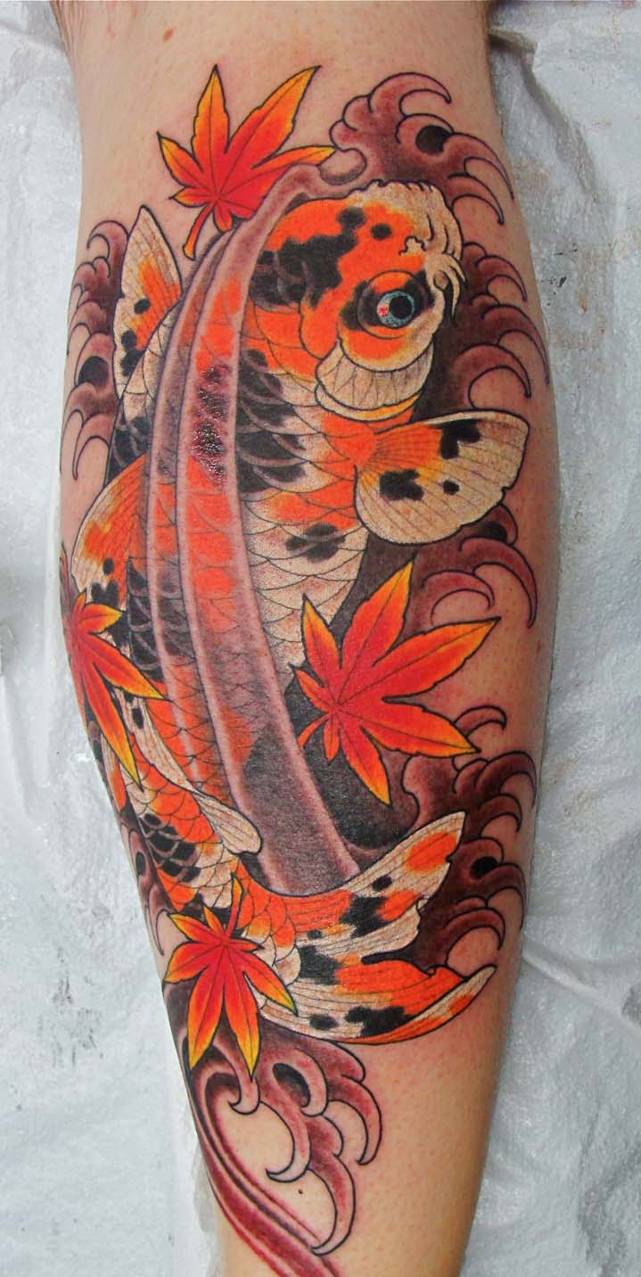 Koi tattoos designs ideas and meaning tattoos for you for Small japanese tattoos
