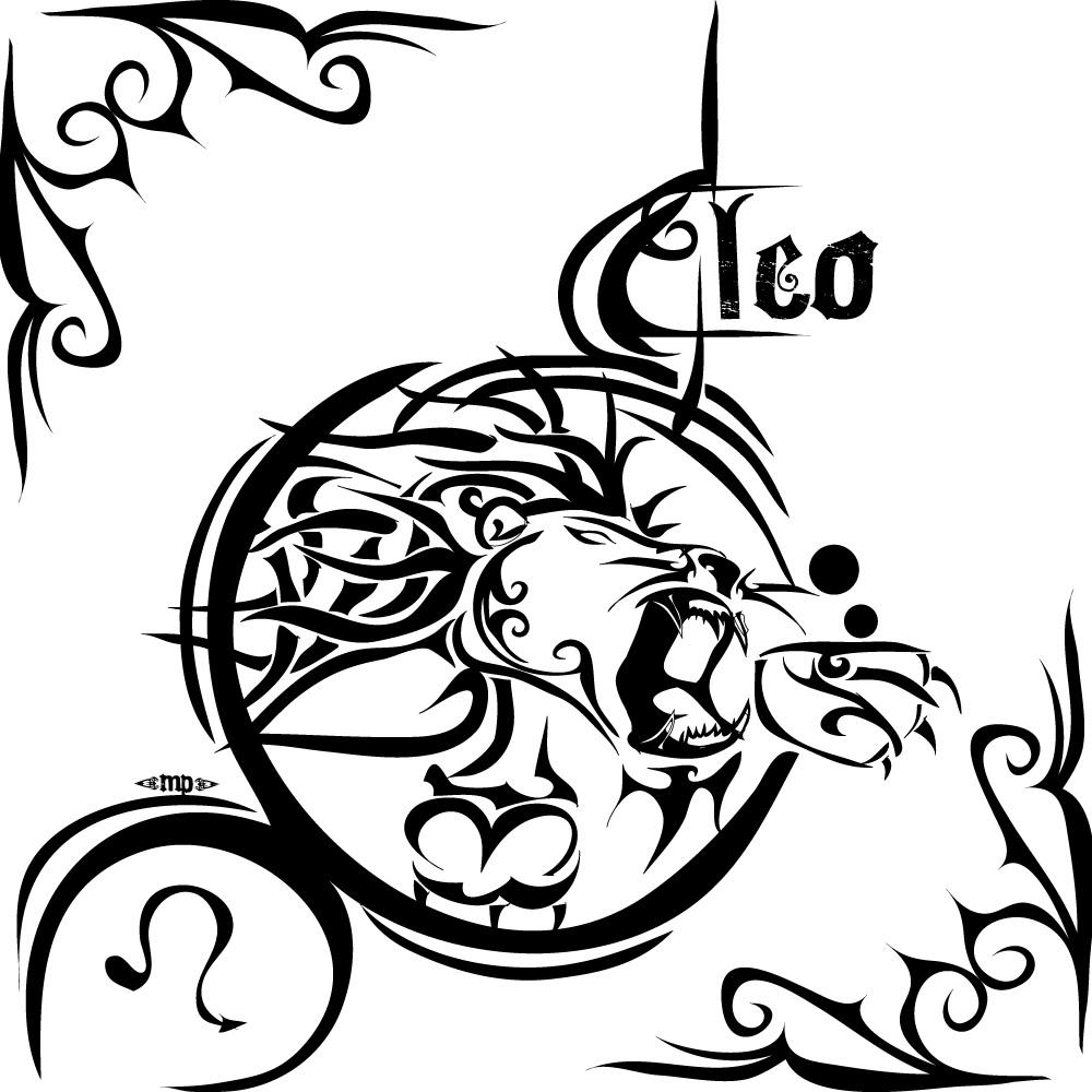 Leo tattoos designs ideas and meaning tattoos for you for Tattoo horoscope signs