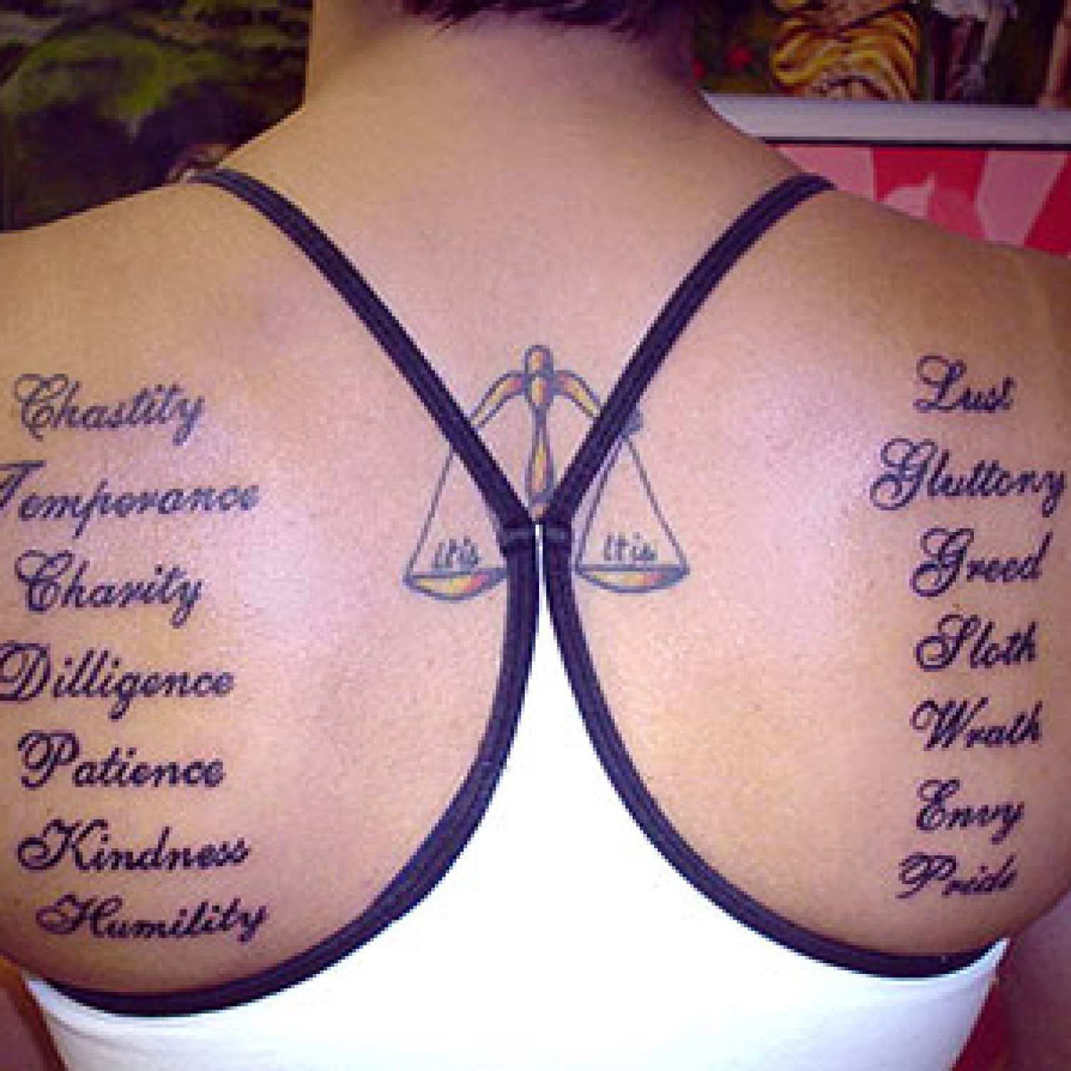 Libra Tattoos Designs, Ideas And Meaning