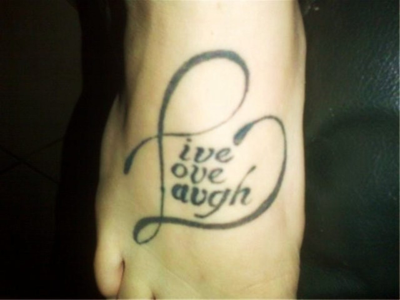 Live Laugh Love Tattoos Designs, Ideas and Meaning ...
