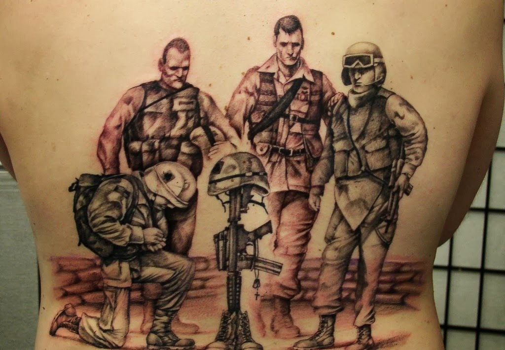 military tattoo designs - photo #21