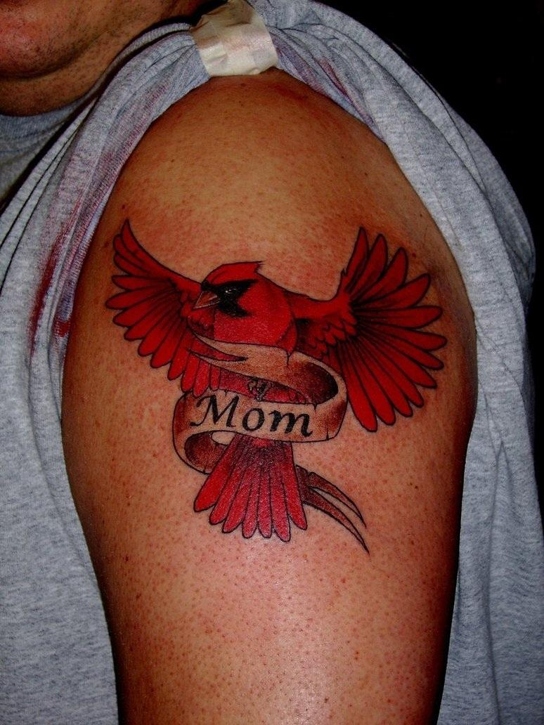 Love Mom Tattoo Designs