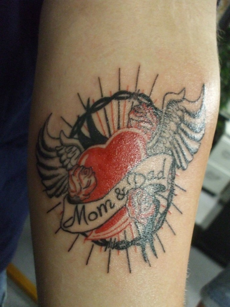 Mom tattoos designs ideas and meaning tattoos for you mom and dad tattoos biocorpaavc Image collections